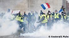Frankreich Gelbwesten-Protest in Paris