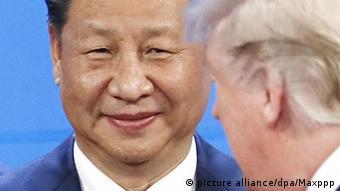 Argentinien G20 Gipfel - US-Präsident Donald Trump und Chinesischer Präsident Xi Jinping