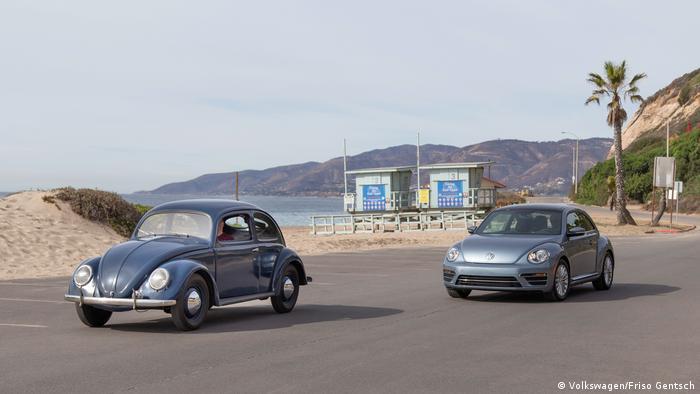 Deutschland Automobilindustrie VW Volkswagen l Beetle vs Käfer (Volkswagen/Friso Gentsch)