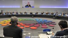 Argentinien G20 Gipfel in Buenos Aires l Plenarsaal