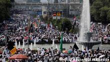 Muslime demonstrieren in Jakarta