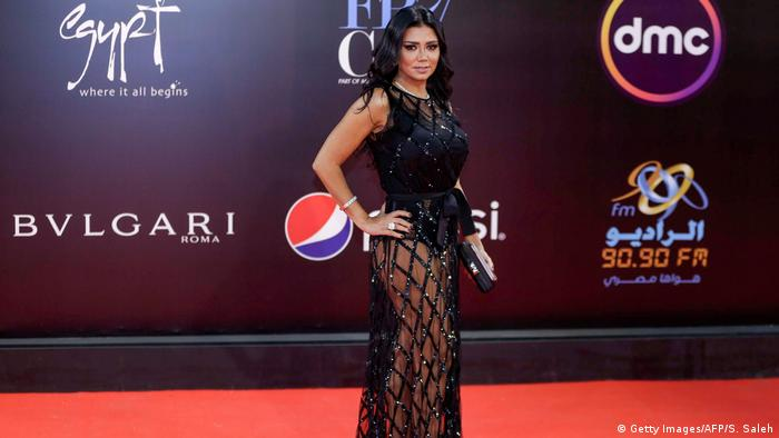 Rania Youssef at the Cairo International Film Festival