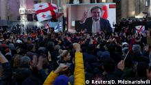Georgien Kundgebung der Opposition in Tiflis