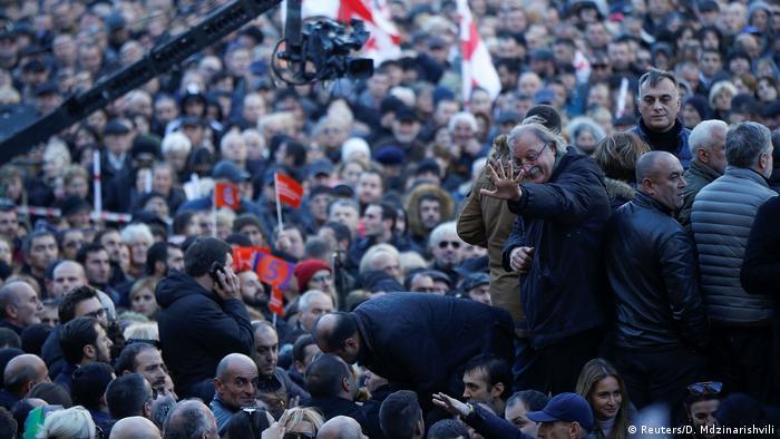 Мітинг у Тбілісі, 2 грудня 2018 року