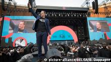 02.12.2018, Südafrika, Johannesburg: Vice-Prime Minister and Minister of Cooperation Development, Digital Agenda, Telecom and Postal services Alexander De Croo delivers a speech at the 'Global Citizen Festival Mandela 100' closing event of the 'She Is Equal' campaign, on day five of a visit to Benin and South-Africa, by Vice-Prime Minister and Minister for Development Cooperation De Croo, in Soweto, Johannesburg, South-Africa, Sunday 02 December 2018. BELGA PHOTO BENOIT DOPPAGNE Foto: Benoit Doppagne/BELGA/dpa |