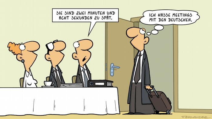 Euromaxx Comics von Fernandez Verstehen Sie Deutsch?