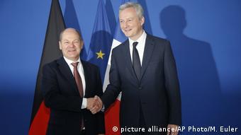 Ο γάλλος υπουργός Εξωτερικών σε πρόσφατη συνάντηση με τον γερμανό ομόλογό του