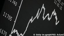 Europa Finanzen l Steuer auf Finanztransaktionen l DAX-Kurve