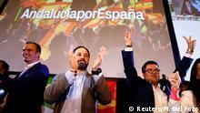 Spanien Andalusien l spanische Rechtsaußen-Partei Vox erstmals im Parlament