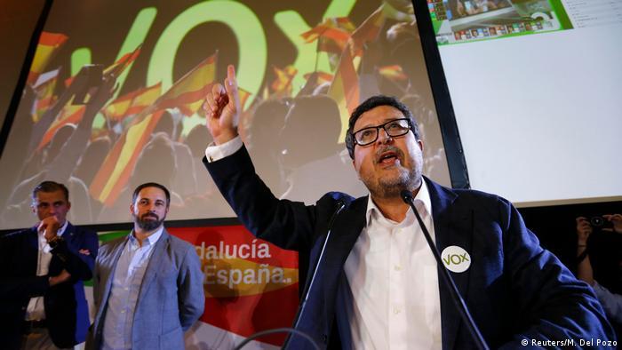 Глава партии Vox Сантьяго Абаскаль