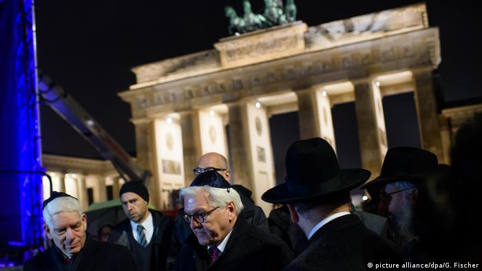 Hanukkah in Berlin: German president calls Jewish community