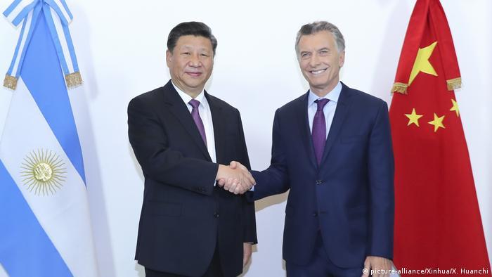 Argentinien - Chinesischer Präsident Xi Jinping erhält die höchste Auszeichnung Argentiniens (picture-alliance/Xinhua/X. Huanchi)