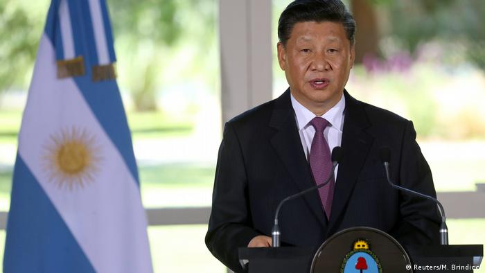 Argentinien - Chinesischer Präsident Xi Jinping erhält die höchste Auszeichnung Argentiniens (Reuters/M. Brindicci)