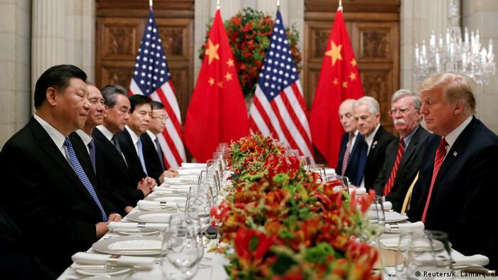 Argentinien G20 Gipfel in Buenos Aires - Xi Jinping und Donald Trump