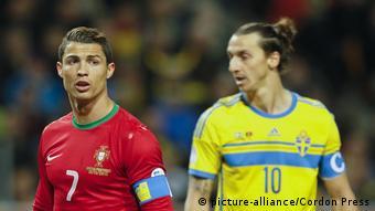 Fußball WM-Qualifikation Schweden - Portugal