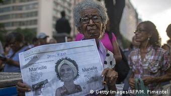 Protesto contra a morte de Marielle Franco no Rio