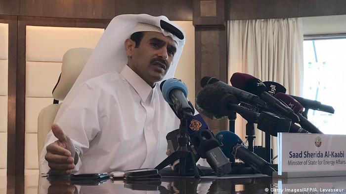 El Katabi El Cezire'ye verdiği röportajda OPEC'ten ayrılma kararının ambargo nedeniyle olduğunun sinyallerini vermişti