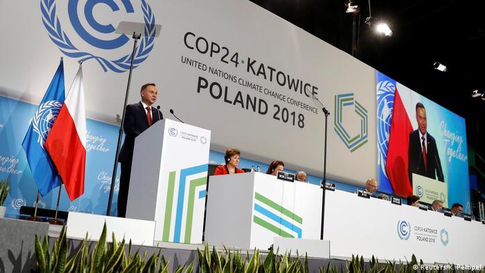 UN-Klimakonferenz 2018 in Katowice, Polen | Andrzej Duda, Präsident Polen (Reuters/K. Pempel)
