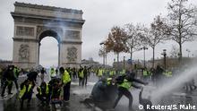 Frankreich Protest Vandalismus Arc de Triomphe