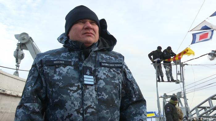 Ukrainian Officer Maxym Nosenko