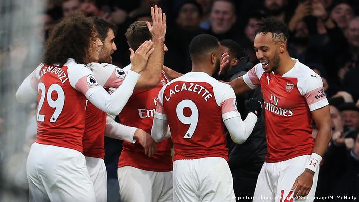 Premier League Arsenal London vs. Tottenham Hotspur (picture-alliance/empics/Sportimage/M. McNulty)
