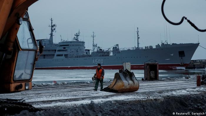 Russland Konflikt Krim Ukraine | Hafen von Mariupol (Reuters/G. Garanich)