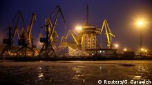 Russland Konflikt Krim Ukraine | Hafen von Mariupol