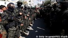 Gazastreifen Hamas | Kassam-Brigaden bei Beerdigung