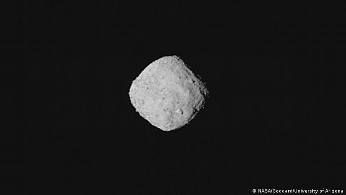 Про прибуття зонда на орбіту астероїда Бенну Nasa інформувала в прямому ефірі