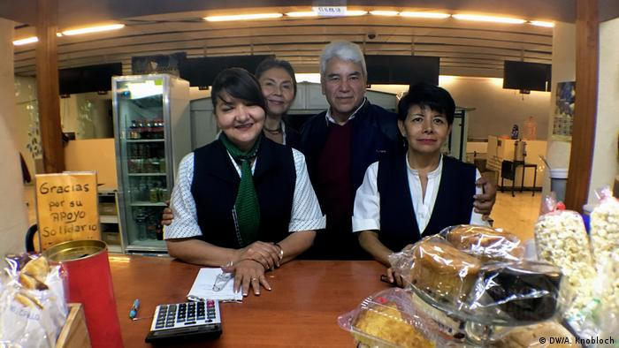 Mexicana Cafeteria at the Mexico City airport (DW/A. Knobloch)