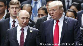 Путин и Трамп на саммите АТЭС, 2017 год