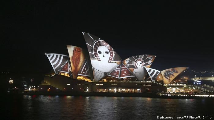 BG Lichtfestivals | Vivid Light Festival In Sydney (picture-alliance/AP Photo/R. Griffith)