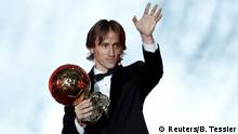 Paris Ballon d'Or Verleihung Modric