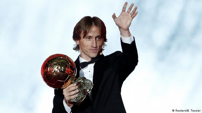 Paris Ballon d'Or Verleihung Modric