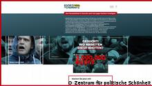 Screenshot Internetseite Soko Chemnitz