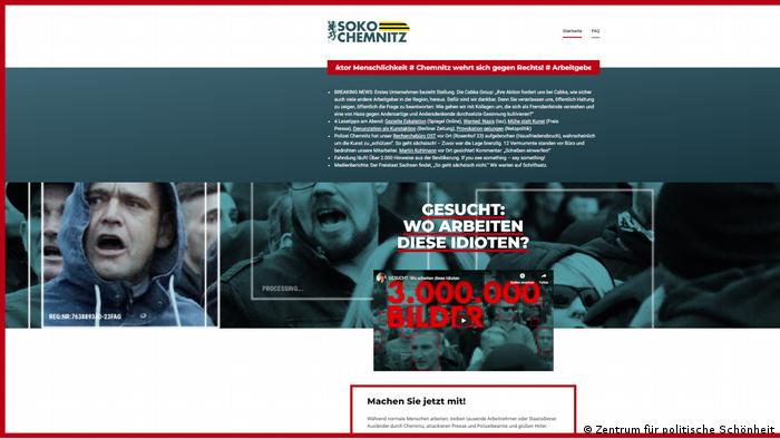 Soko Chemnitz website