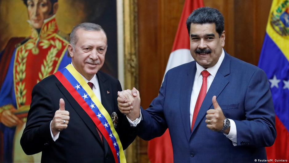 Venezuela Erdogan bei Maduro