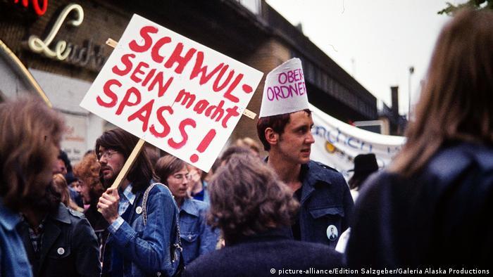 Немецкие гей-активисты семидесятых