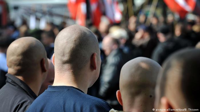 Extremistas de direita em Dortmund