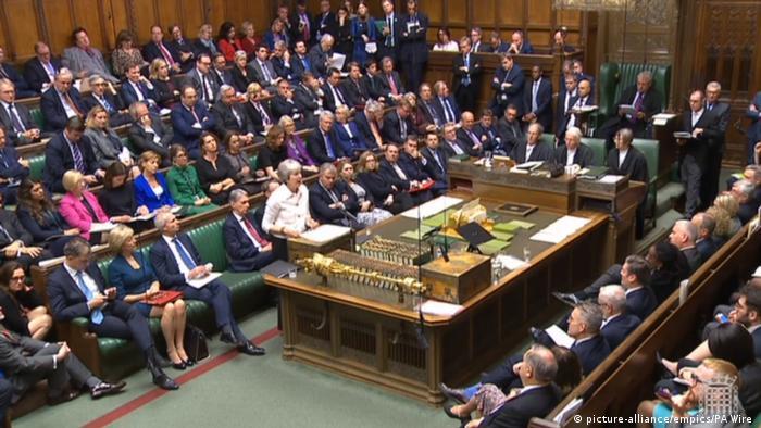 London House of Commons Brexit-Debatte