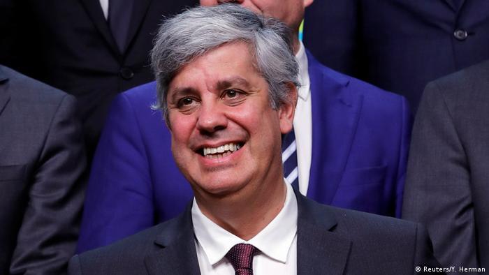 Belgien Treffen der EU-Finanzminister in Brüssel - Mario Centeno (Reuters/Y. Herman)