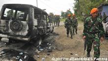 Indonesien Konflikt in Papua
