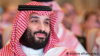 Kronprinz Mohammed bin Salman bin Abdulaziz Al Saud von Saudi-Arabien (picture-alliance/dpa)