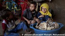 Jemen Krieg - Kinder in Aslam, Hajjah