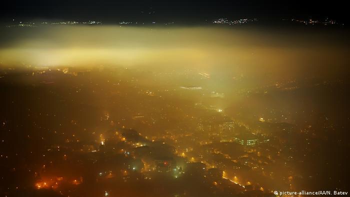 Mazedonien Smog in Skopje
