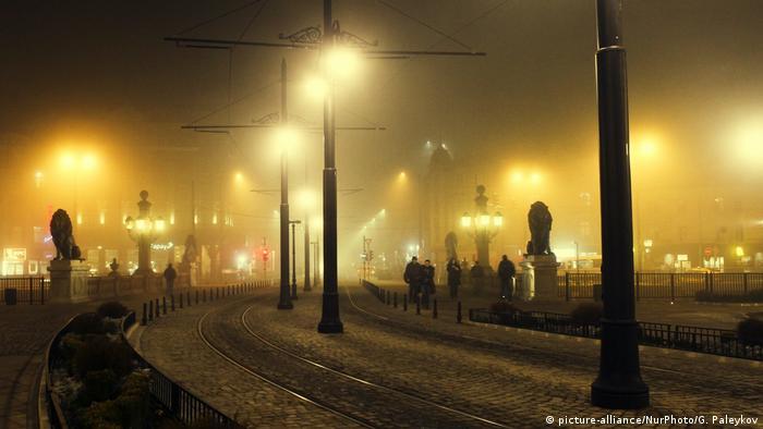 Bulgarien Smog in Sofia (picture-alliance/NurPhoto/G. Paleykov)