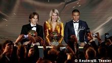 Paris e o mundo aos pés de Modric, Hegerberg e Mbappé