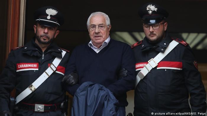 Italien - Anführer der Cosa Nostra auf Sizilien festgenommen (picture alliance/dpa/ANSA/IO. Petyx)