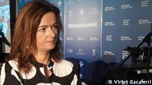 December 2018 Brussels. Tanja Fajon, Member of European Parliament, reporter for Visa Liberalisation