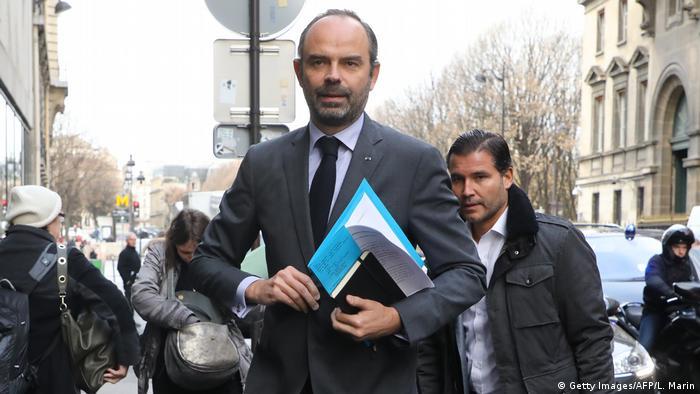 Frankreich Gelbwesten-Protest in Paris | Édouard Philippe, Premierminister
